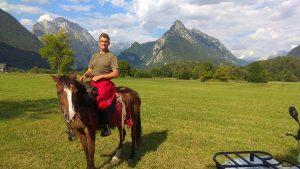 Fábián Róbert lovastúra vezető, tereplovaglás, lovastúra