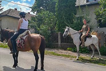 2-3 órás lovastúra, tereplovaglás